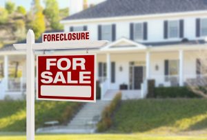 foreclosure vs for sale